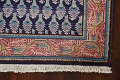 All-Over Navy Blue Tabriz Persian Area Rug 2x3 image 6