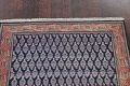 All-Over Navy Blue Tabriz Persian Area Rug 2x3 image 9