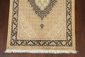 Vegetable Dye Geometric Tabriz Mahi Oriental Area Rug 4x6 image 5