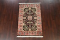 Vegetable Dye Floral Tabriz Oriental Area Rug 4x6 image 13