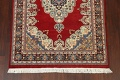 100% Vegetable Dye Red Tabriz Oriental Area Rug 5x7 image 5