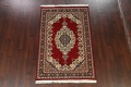 100% Vegetable Dye Red Tabriz Oriental Area Rug 5x7 image 13