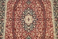 Vegetable Dye Floral Tabriz Oriental Area Rug 5x7 image 4