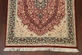 Vegetable Dye Floral Tabriz Oriental Area Rug 5x7 image 5