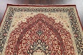Vegetable Dye Floral Tabriz Oriental Area Rug 5x7 image 9
