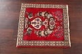 Animal Pictorial Red Tabriz Persian Area Rug 2x2 image 10