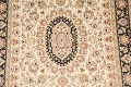 Vegetable Dye Floral Tabriz Oriental Area Rug 4x6 image 4