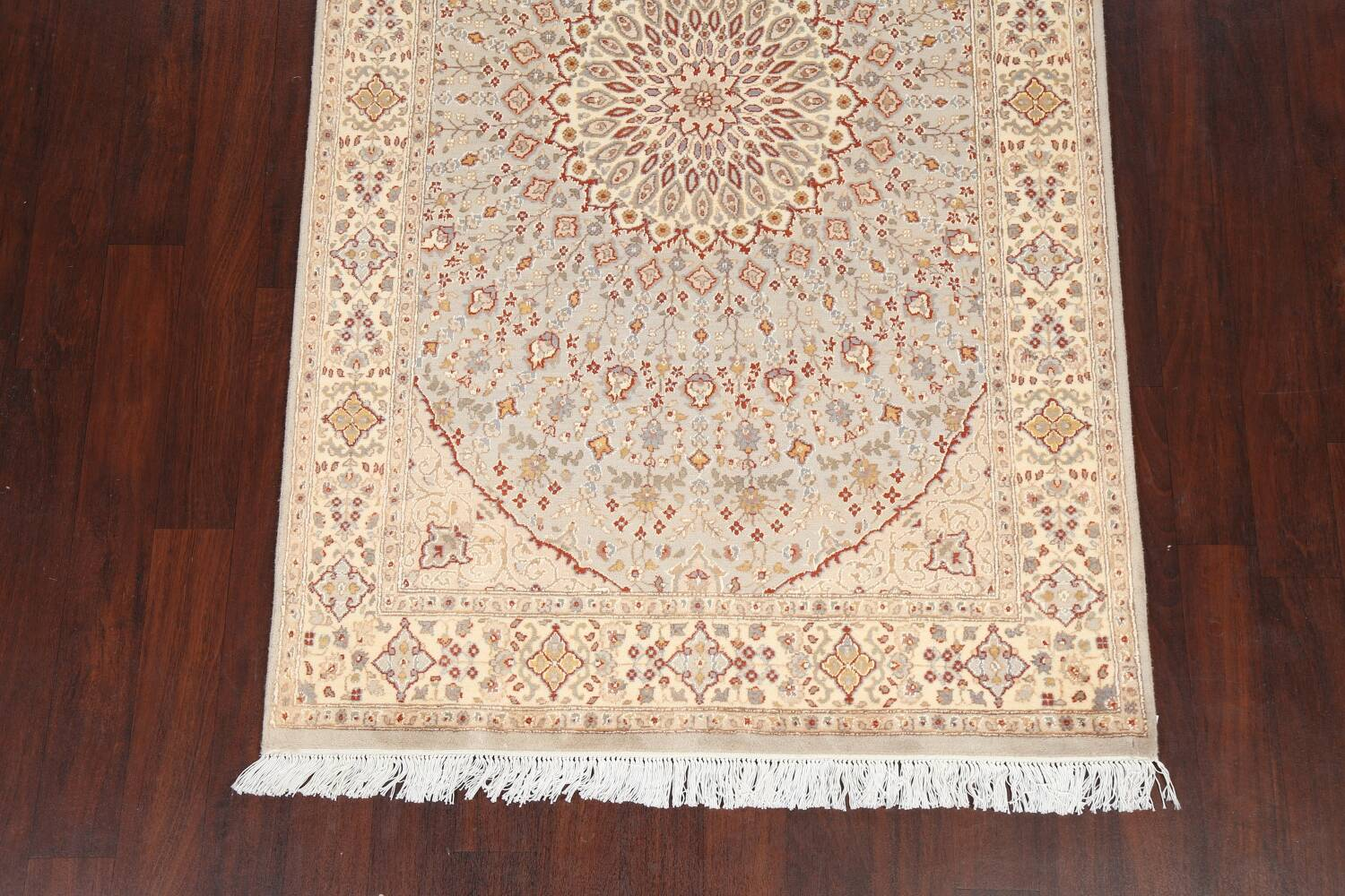 Vegetable Dye Geometric Tabriz Oriental Area Rug 5x7 image 5