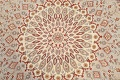 Vegetable Dye Geometric Tabriz Oriental Area Rug 5x7 image 9