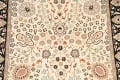 Vegetable Dye Floral Tabriz Oriental Area Rug 4x7 image 4
