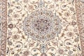 100% Vegetable Dye Floral Isfahan Persian Area Rug 5x8 image 4