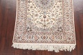 100% Vegetable Dye Floral Isfahan Persian Area Rug 5x8 image 5