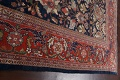 Pre-1900 Antique Vegetable Dye Sultanabad Persian Rug 12x16 image 14