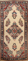 Antique Floral Kerman Persian Area Rug 2x4 image 1