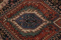 Pre-1900 Antique Vegetable Dye Kazak Oriental Runner Rug 3x11 image 8