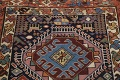 Pre-1900 Antique Vegetable Dye Kazak Oriental Runner Rug 3x11 image 9