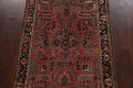 Antique Vegetable Dye Floral Sarouk Persian Area Rug 4x7 image 3
