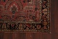 Antique Vegetable Dye Floral Sarouk Persian Area Rug 4x7 image 6