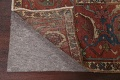 Pre-1900 Antique Vegetable Dye Heriz Serapi Persian Area Rug 12x18 image 7