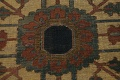 Pre-1900 Antique Vegetable Dye Heriz Serapi Persian Area Rug 12x18 image 9