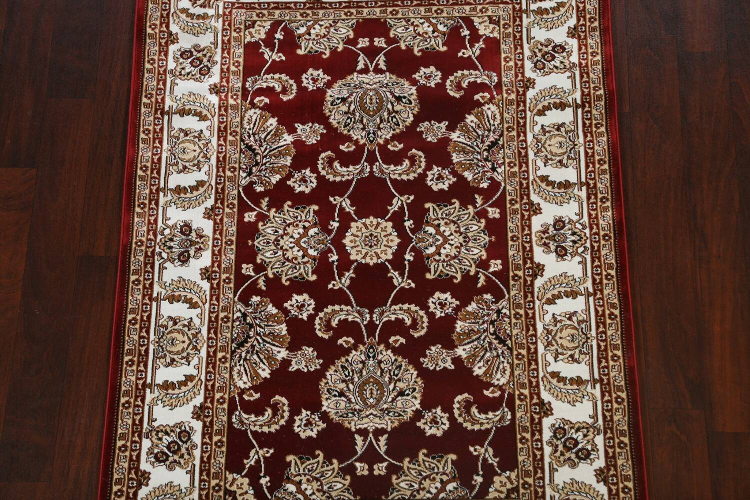 Traditional Floral Tabriz Area Rug image 3