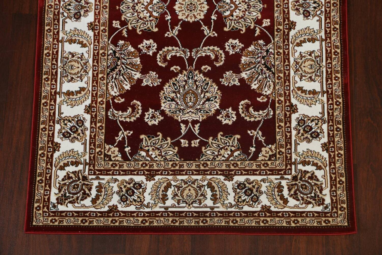 Traditional Floral Tabriz Area Rug image 5