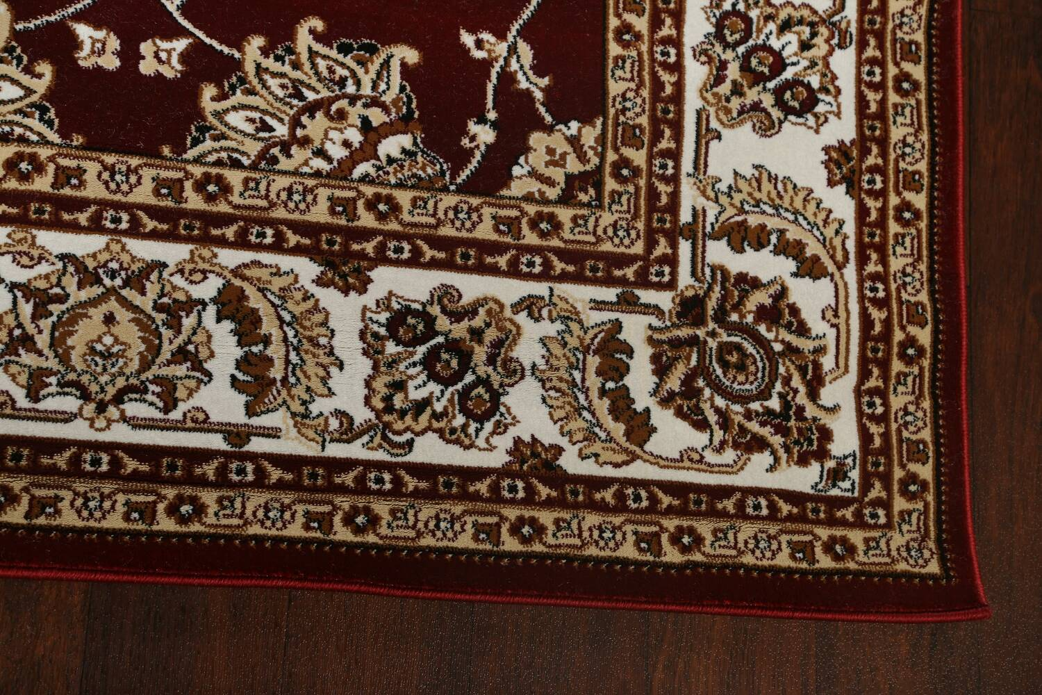 Traditional Floral Tabriz Area Rug image 38