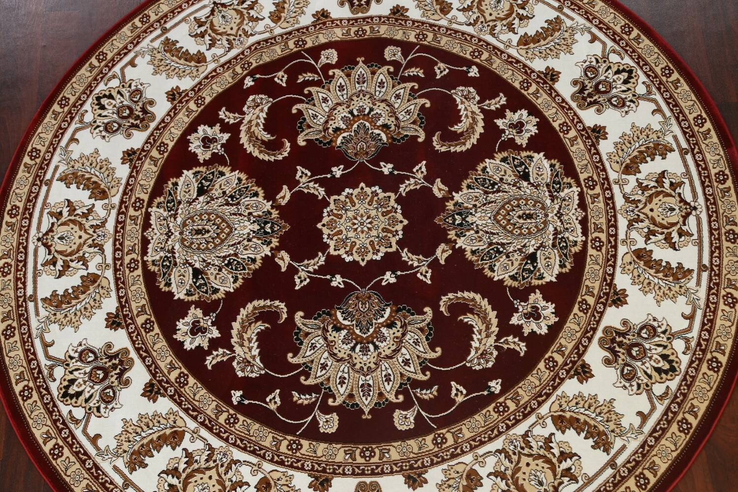 Traditional Floral Tabriz Area Rug image 51