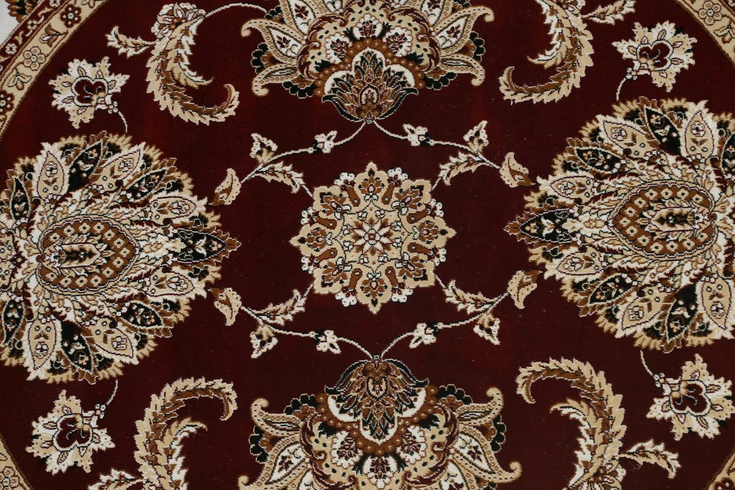 Traditional Floral Tabriz Area Rug image 52