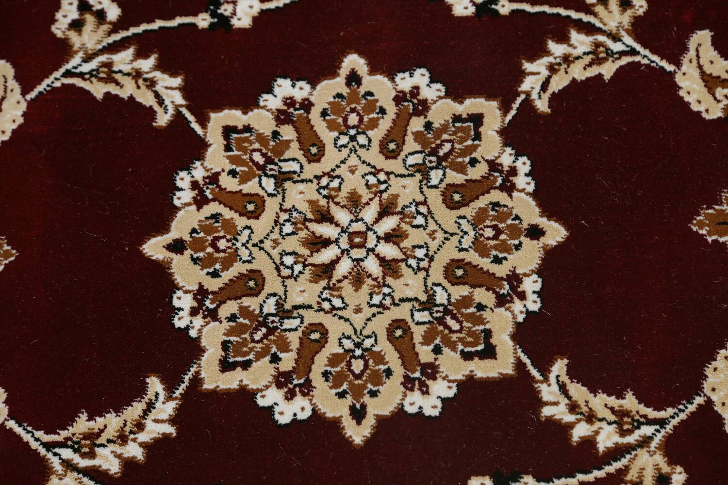 Traditional Floral Tabriz Area Rug image 56