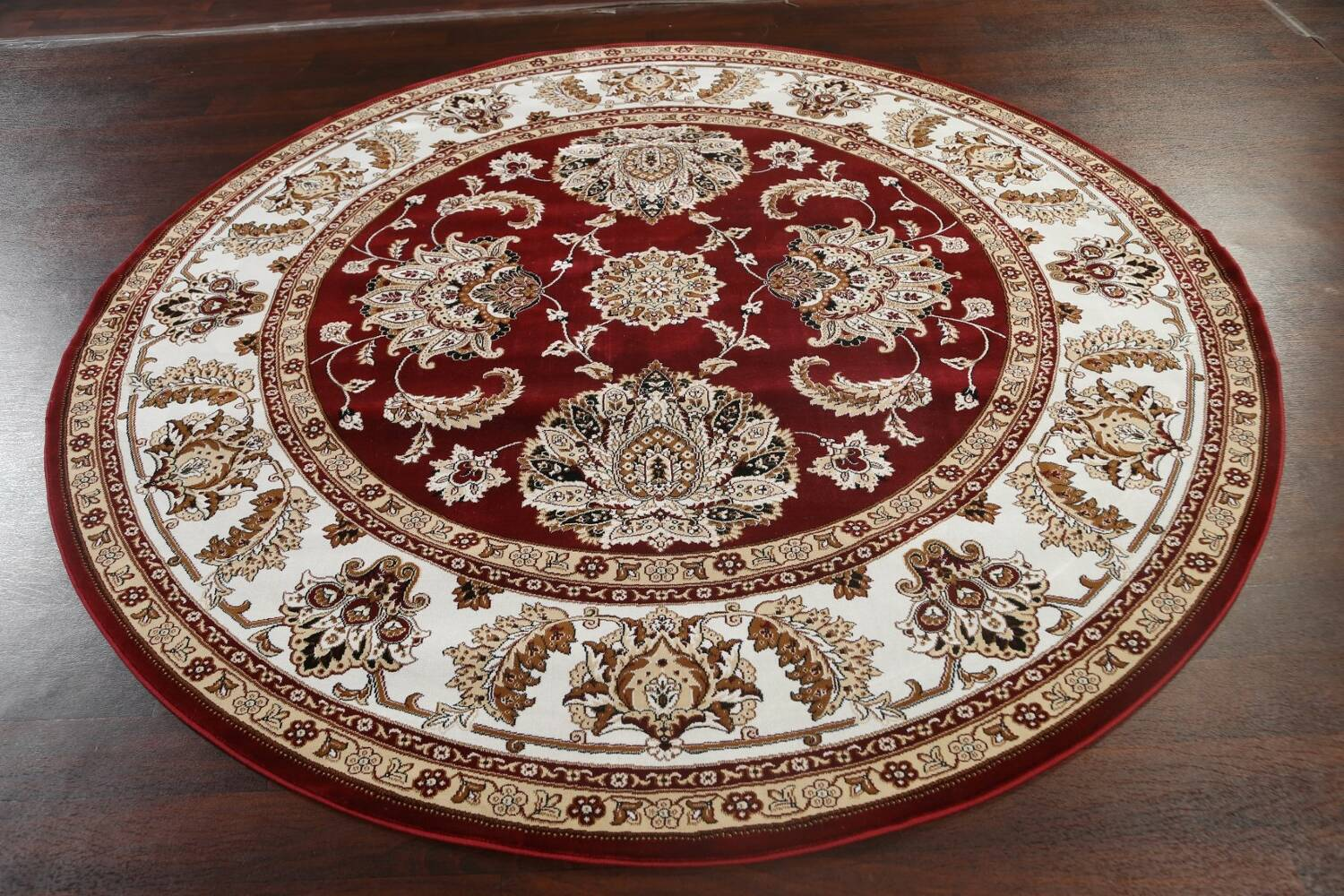 Traditional Floral Tabriz Area Rug image 58