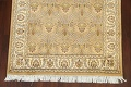 100% Vegetable Dye Floral Tabriz Oriental Area Rug 4x6 image 5