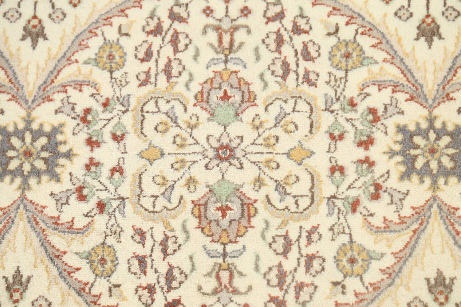 100% Vegetable Dye Floral Tabriz Oriental Area Rug 4x6 image 8