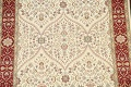 100% Vegetable Dye Floral Tabriz Oriental Area Rug 4x6 image 4