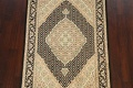100% Vegetable Dye Tabriz Mahi Oriental Area Rug 4x6 image 3