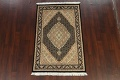 100% Vegetable Dye Tabriz Mahi Oriental Area Rug 4x6 image 13