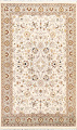 100% Vegetable Dye Floral Tabriz Oriental Area Rug 4x6 image 1