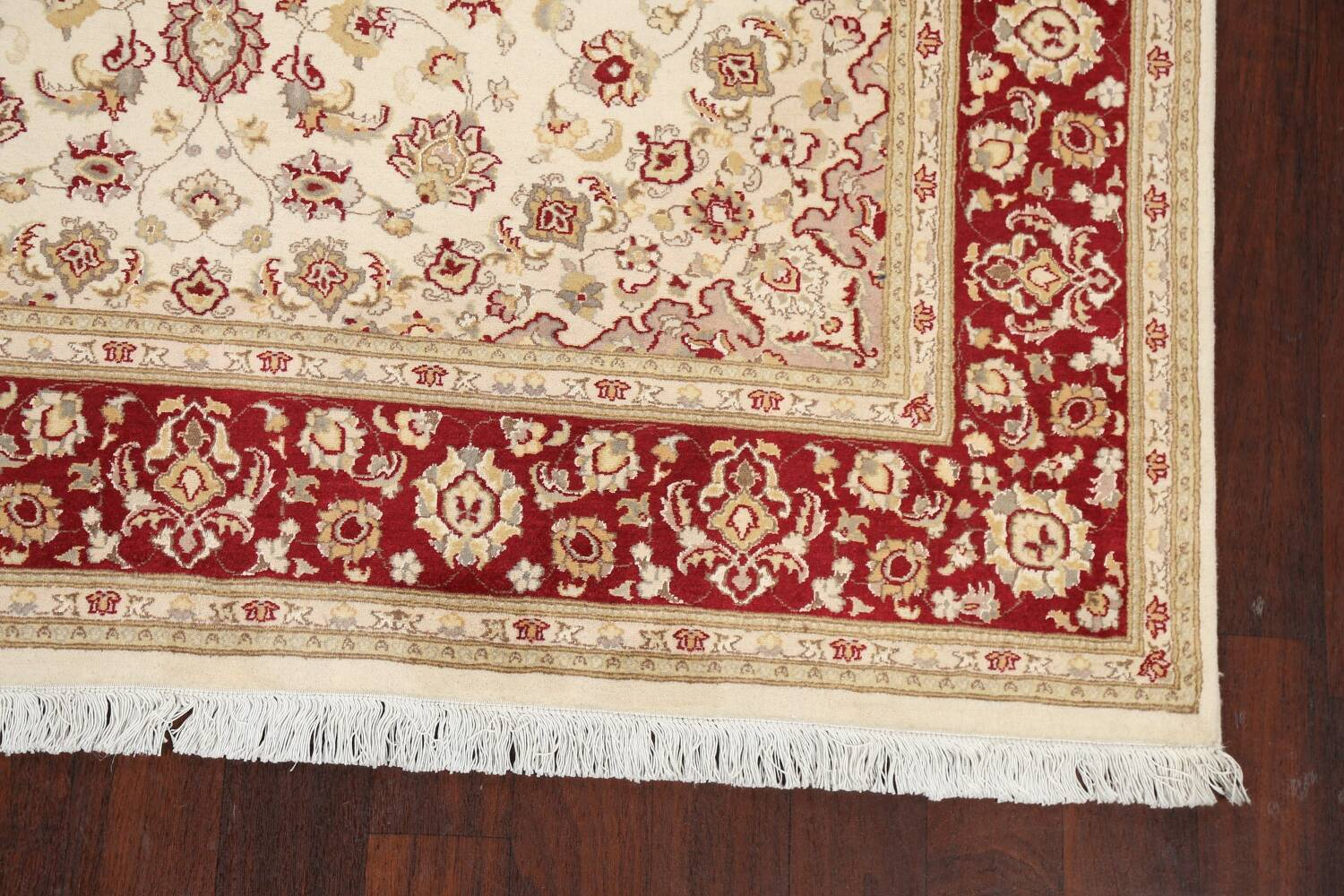 100% Vegetable Dye Floral Tabriz Oriental Area Rug 6x9 image 6