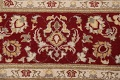 100% Vegetable Dye Floral Tabriz Oriental Area Rug 6x9 image 8