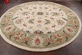 Floral Round Rug 10x10 image 8