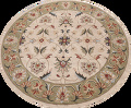 Floral Round Rug 10x10 image 1