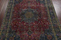 Traditional Floral Mashad Persian Area Rug 9x13 image 3