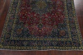 Traditional Floral Mashad Persian Area Rug 9x13 image 5