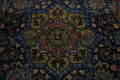 Traditional Floral Mashad Persian Area Rug 9x13 image 10