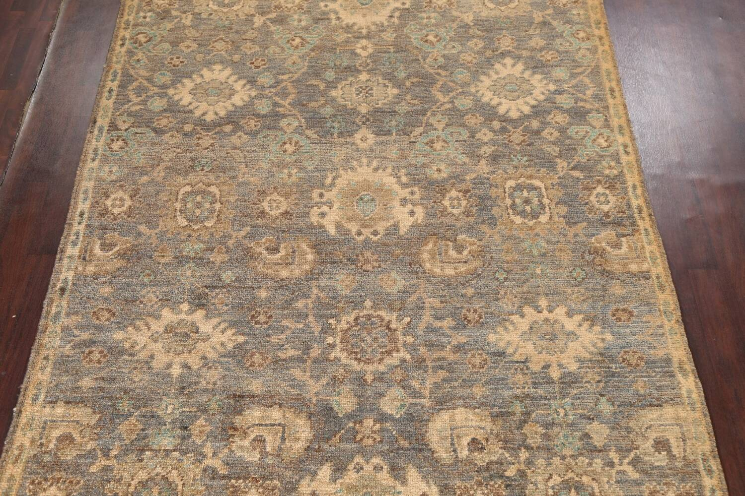 All-Over Oushak Oriental Area Rug 5x8 image 3