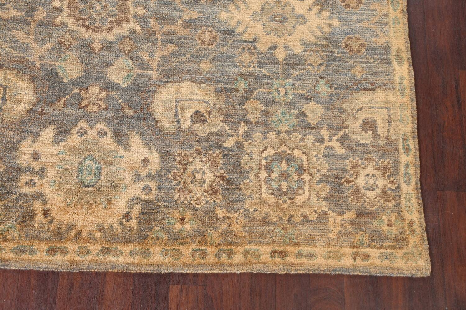 All-Over Oushak Oriental Area Rug 5x8 image 6