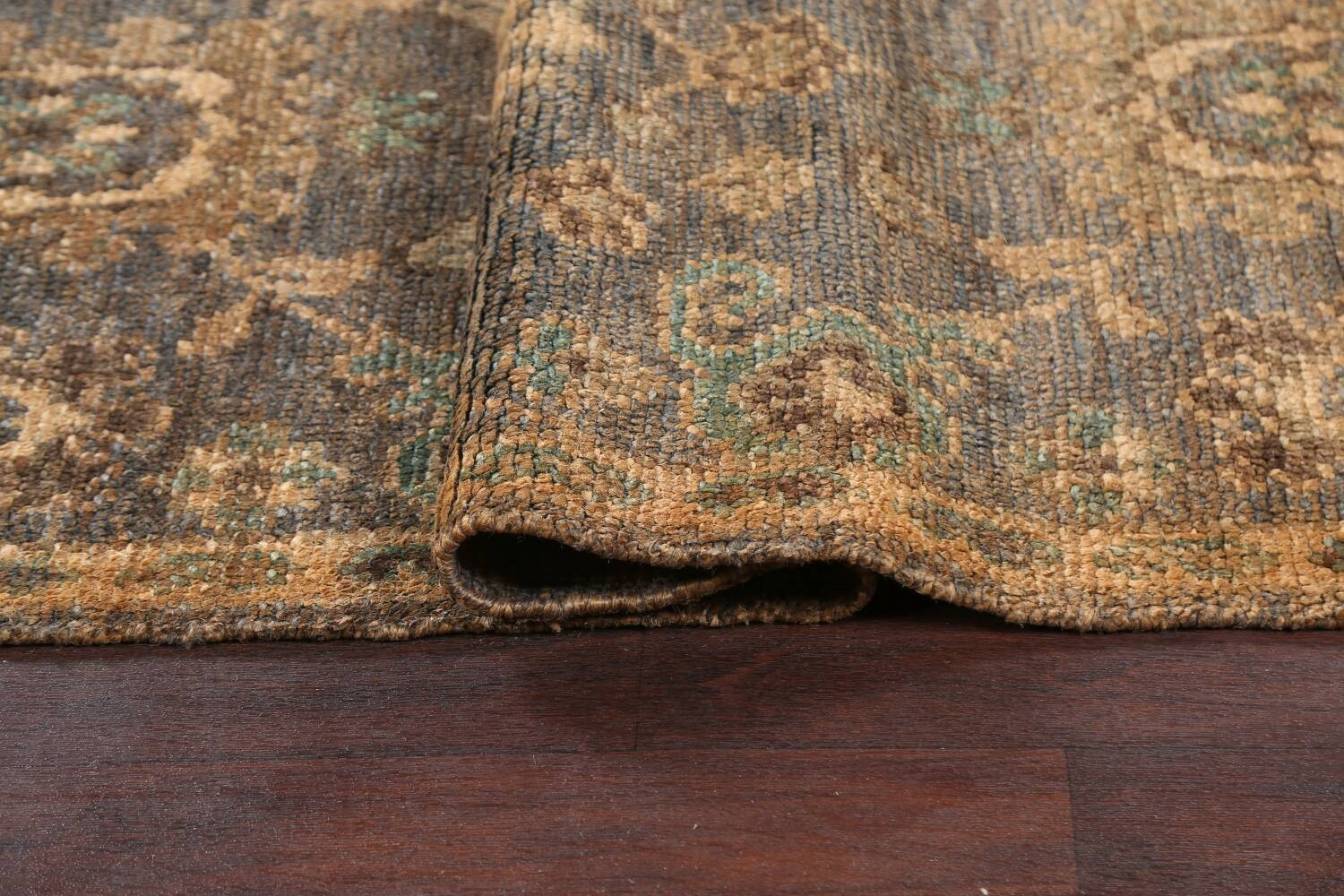 All-Over Oushak Oriental Area Rug 5x8 image 9