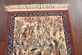 Antique Vegetable Dye Tableau Isfahan Persian Area Rug 2x3 image 9