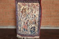 Antique Vegetable Dye Tableau Isfahan Persian Area Rug 2x3 image 13