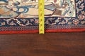 Antique Vegetable Dye Tableau Isfahan Persian Area Rug 2x3 image 16